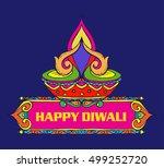 diwali price tag banner | Shutterstock .eps vector #499252720
