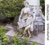 Sintra  Portugal  Statue  Mom...