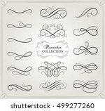 vector design. set of... | Shutterstock .eps vector #499277260