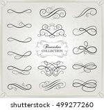vector design. set of... | Shutterstock .eps vector #499277260