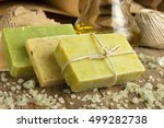 collection of handmade  natural ... | Shutterstock . vector #499282738