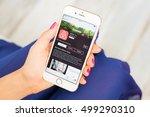 riga  latvia   september 8 ... | Shutterstock . vector #499290310
