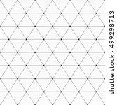 vector seamless pattern.... | Shutterstock .eps vector #499298713