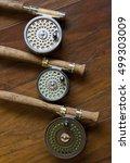 Three Vintage Fly Fishing Reel...