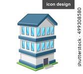 isometric vector illustration... | Shutterstock .eps vector #499308580