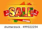 sale. | Shutterstock .eps vector #499322254