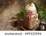 Hot Chocolate With Whipped...
