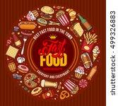 Fast Food Menu Template In Hand ...