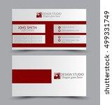 business card design set...   Shutterstock .eps vector #499331749