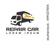 car repair logo icon service... | Shutterstock .eps vector #499337854