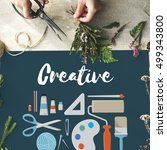 ideas creative design... | Shutterstock . vector #499343800