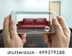 augmented reality marketing... | Shutterstock . vector #499379188