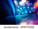 internet of things  iot ... | Shutterstock . vector #499379200