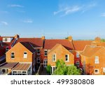aerial view of roof tops of... | Shutterstock . vector #499380808