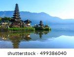 pura ulun danu bratan  hindu...   Shutterstock . vector #499386040