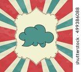 cloud | Shutterstock .eps vector #499386088