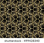 gold gradient color on black... | Shutterstock .eps vector #499428340