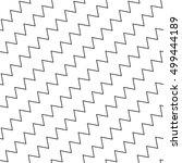 wavy  zigzag parallel lines... | Shutterstock .eps vector #499444189