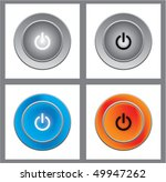 on off button | Shutterstock .eps vector #49947262
