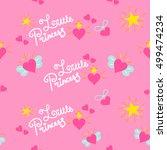 Pink Little Princess Pattern...