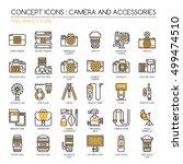 Camera And Accessories Icon ...
