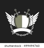 coat of arms vector | Shutterstock .eps vector #499494760