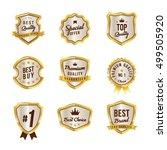 badge sale promotion set in... | Shutterstock .eps vector #499505920
