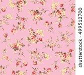 flower illustration pattern   Shutterstock .eps vector #499512700