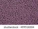 lilac glass beads hi res photo. | Shutterstock . vector #499518304