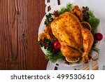 Roasted Whole Chicken With...