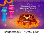 vector illustration of colorful ... | Shutterstock .eps vector #499531234