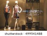 clothing store showcase   Shutterstock . vector #499541488