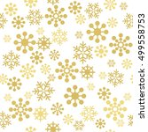 christmas seamless pattern with ...   Shutterstock .eps vector #499558753