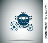 carriage vector icon | Shutterstock .eps vector #499560694