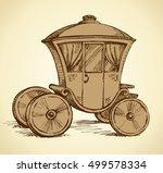 beautiful cute romantic classic ... | Shutterstock .eps vector #499578334