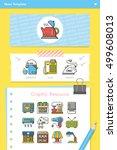icon set applianace vector | Shutterstock .eps vector #499608013