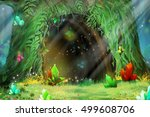 Mystery Tree Hole. Video Game\'...