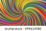 swirling radial background.... | Shutterstock .eps vector #499614580