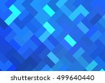 abstract illustration blue... | Shutterstock . vector #499640440