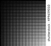 asymmetric grid mesh pattern.... | Shutterstock .eps vector #499659010