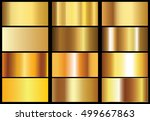 golden background texture... | Shutterstock .eps vector #499667863