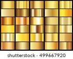 golden background texture... | Shutterstock .eps vector #499667920