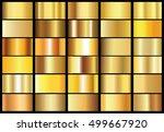 gold background texture vector... | Shutterstock .eps vector #499667920