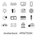 business icon concept | Shutterstock .eps vector #499675204