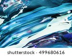 color splashes. colorful... | Shutterstock . vector #499680616