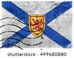 Flag Of Nova Scotia Province ...