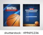 basketball tournament  modern...   Shutterstock .eps vector #499691236