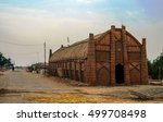 mudhif  the traditional house... | Shutterstock . vector #499708498