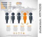 business management  strategy... | Shutterstock .eps vector #499742050