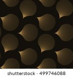 simple graphic petals seamless... | Shutterstock .eps vector #499746088